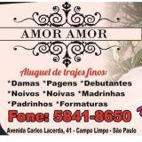 Amor Amor Aluguel de Trajes No Campo Limpo