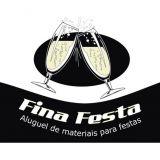 Fina Festa, Aluguel de Materiais Para Festa!!!