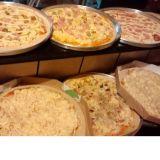 Rod�zio de Pizza in loco: privacidade e conforto.