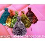 Convites de debutante e Lembrancinhas de debutante