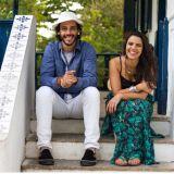 Mila e Vitor, M�sica ao Vivo, Voz e Viol�o...
