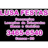 Lusa Festas-Loca��o-Brinquedos-Mesas e cadeiras-de