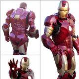 Personagens vivos homem de Ferro,homem aranha etc.