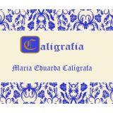 Caligrafia Maria Eduarda - Avar�