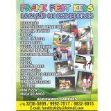 a Frank Fest Kids loca��o de brinquedos em Aracaju