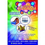 Lindos Eventos,aluguel de brinquedos,buffet