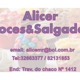 Alicer Doces & Salgados