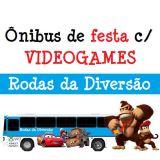 Rodas Da Divers�o - �nibus c/ GAMES p/ sua festa