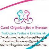 Carol Organiza��es e eventos