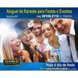 Khorus �udio - Loca��o De Karaok� P/ Festas