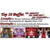 Top10 Buffet e Loca��o e Decora��o