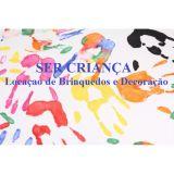 Ser Crian�a - Loca��o De Brinquedos e Decora��o