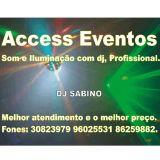 Access Eventos Som Luz DJ Palco Tablado Decora��o