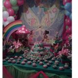 Buffet a domicilio para festa infantil completa