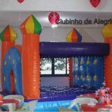 Aluguel de Brinquedos Clubinho da Alegria.