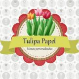 Tulipa Papel Mimos Personalizados