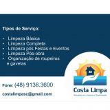 Faxinas/Organiza��es Costa Limpa