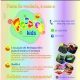 Fabrica kids Loca��o de brinquedos e buffet infant
