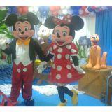Personagens Mickey e Minnie Salvador