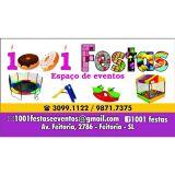 1001 festas espa�o de eventos