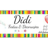 Didi Festas & Decora��es