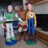 Esculturas em isopor para decora��o de festas infa