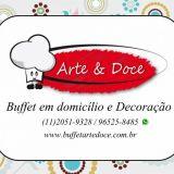 Arte & Doce servi�o de Buffet e Decora��o