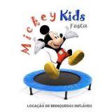 Mickey Kids Festas. Loca��o de brinquedos infl�vei