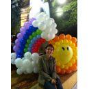 Liliany Miranda - decora��o com bal�es