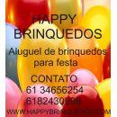 Happy aluguel de brinquedos Brasilia df