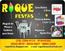 Roque Festas (Mesas, cadeiras e brinquedos)