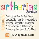 Arthurina Festas - Brinquedos & Decora��o