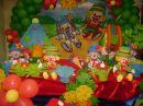 Arco Iris Decora��o E Sal�o De Festa Infantil