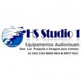 Hs Studio1 Som Luz Equipamentos Audiovisuais Ltda