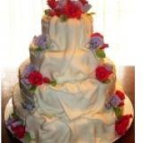 Bolo Artístico Pasta Americana/ Casamento e Outros