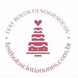 Fest Bolos Cenográficos By Cíntia Nunes