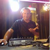 DJ Som iluminação datashow microfone neon luznegra