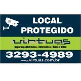 Virtuas Segurança Eletrônica, câmera ip, CFTV BH