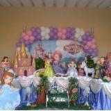 Buffet infantil, decoração e trenzinho