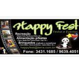 Happy Fest- atendemos todas as regiões!!