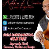 Aulas de Cavaquinho, Banjo & Violão Via Internet