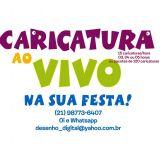 Caricatura ao Vivo Em Niterói