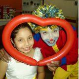 Pintura Facial e Escultura com balões