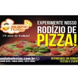 Rodízio de Pizza em Brasília - DF Pizza em Casa