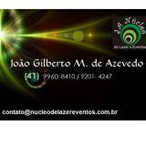 Núcleo de Lazer & Eventos - Joao Gilberto