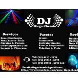 DJ Diego Chendo Som & Iluminação para seu evento.