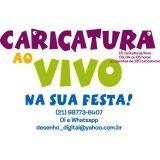 Caricatura ao Vivo Rio de Janeiro