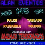 Alan Eventos-som,luz,dj E Decoração Para Festas.