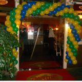 Linda Decoração Festa,Loja,Evento c/Arcos de Bolas