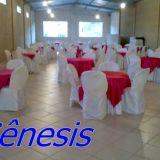 Aluguel de mesas em Santa Isabel